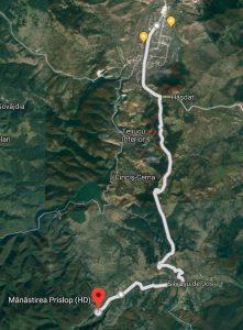 Traseu pentru biciclete Hunedoara- Silvaș- Mănăstirea Prislop